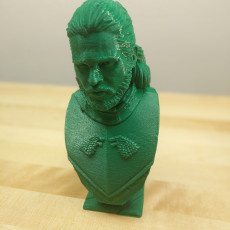 Picture of print of Jon Snow bust