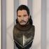 Jon Snow bust print image