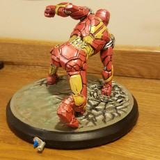 Picture of print of Iron Man MK43 - Super Hero Landing Pose - with lights - MINIMAL SUPPORTS EDITION This print has been uploaded by Jason Jackson