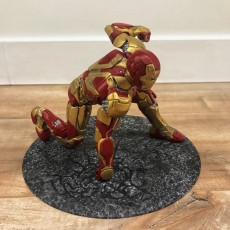 Picture of print of Iron Man MK43 - Super Hero Landing Pose - with lights - MINIMAL SUPPORTS EDITION This print has been uploaded by Stephane Lemieux
