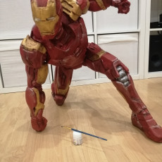 Picture of print of Iron Man MK43 - Super Hero Landing Pose - with lights - MINIMAL SUPPORTS EDITION This print has been uploaded by Jean-Philippe Paumier