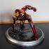 Iron Man MK43 - Super Hero Landing Pose - with lights - MINIMAL SUPPORTS EDITION print image
