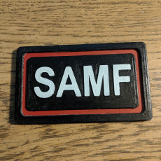 Mcree Swimsuit SAMF Belt Buckle