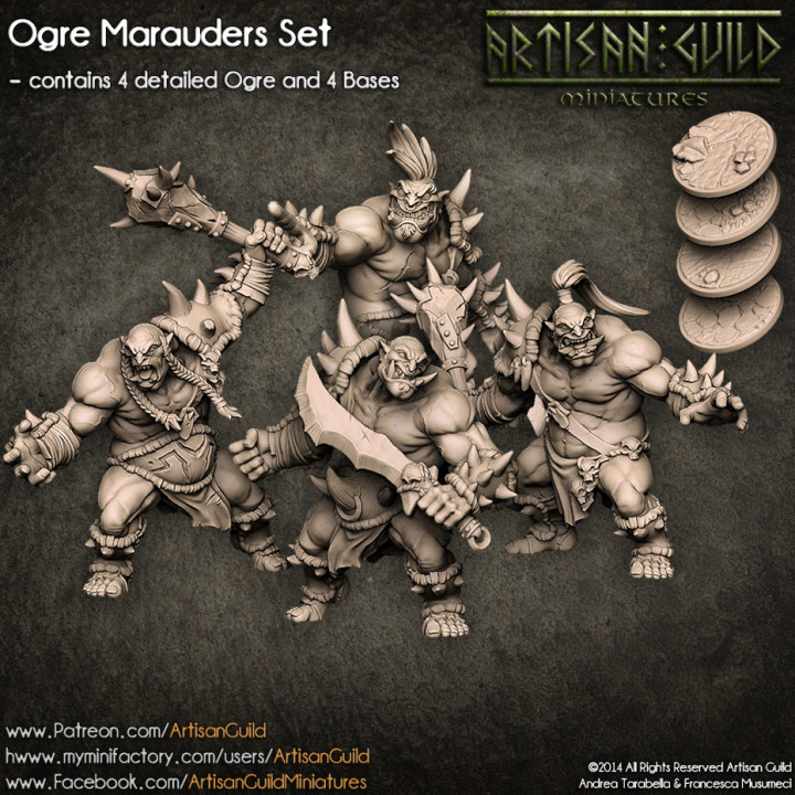 Ogre Marauders - 4 Modular Units