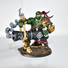 Picture of print of Gronk Boomshot - Ogre Cannoneer Hero