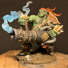 Picture of print of Gronk Boomshot - Ogre Cannoneer Hero