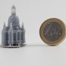 Picture of print of Frauenkirche - Dresden, Germany