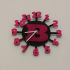 Wall Clock With Letter image