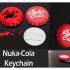 Fallout Nuka Cola bottlecap keychain image