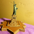 Statue Of Liberty (with Base) - 1:1000 / 1:700 print image
