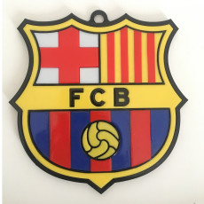 BARCELLONA F.C. WALL BADGE