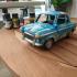 Pony Toy Car print image