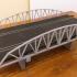 Slot car Warren Truss Arch bridge 1:32 scale image