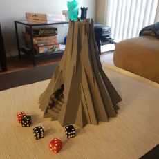 Death Mountain Dice Tower