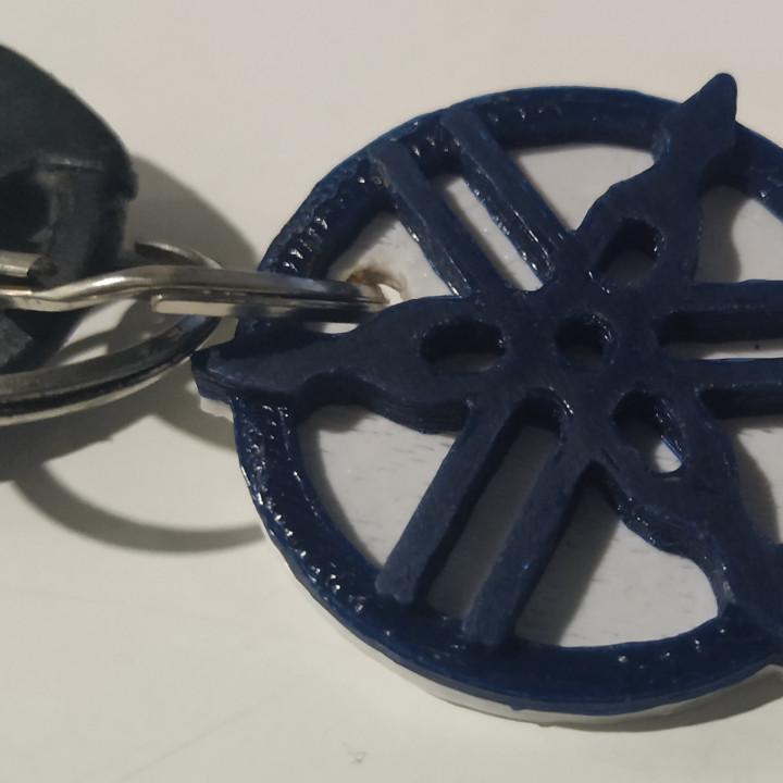 Yamaha keychain