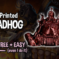 Picture of print of Roadhog - Overwatch