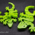 Flexi Articulated Mini Gecko image