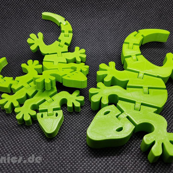 Flexi Articulated Mini Gecko