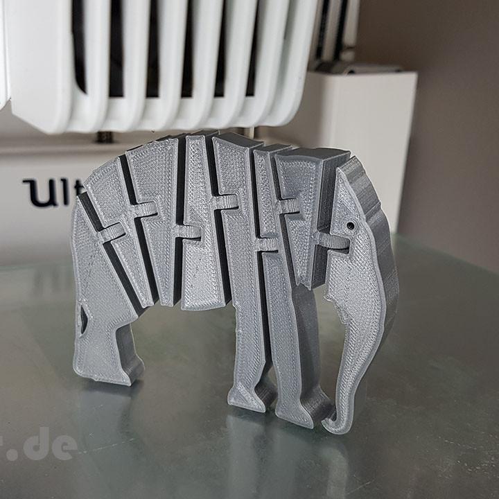 Flexi Articulated Elephant