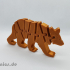 Flexi Articulated Mini Bear image