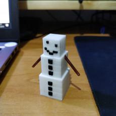 Minecraft Snow Golem