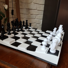 echiquier complet - chess complet