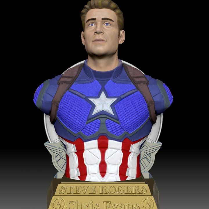 Steve Rogers-CAPTAIN AMERICA