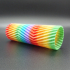 Multicolor Gradient Hexagonal Filament image
