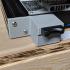 A compact Ender 3 Micro SD to SD Card Reader Mount image