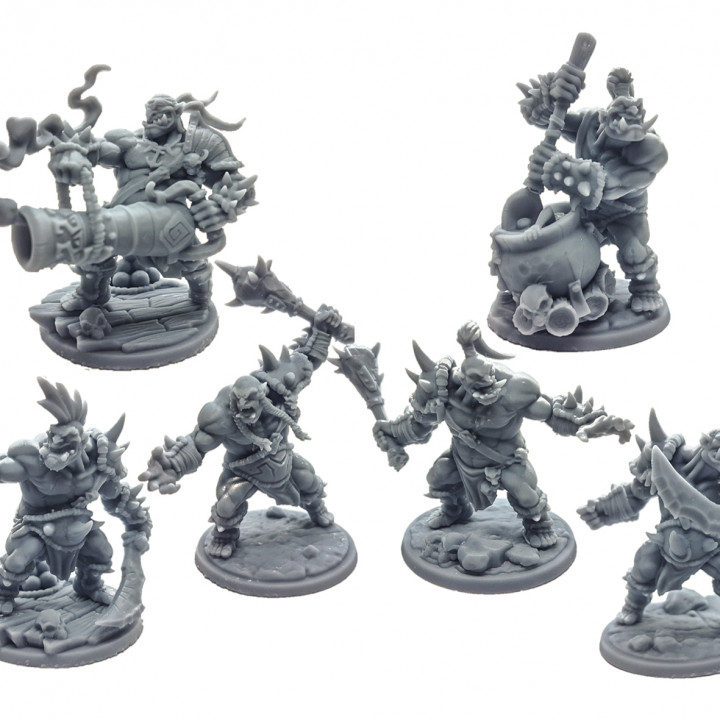 Ogre Marauders Set - 4+2 Heroes Bundle