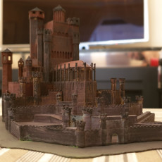 Picture of print of The Red Keep - Game of Thrones