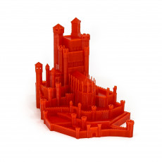 Picture of print of The Red Keep - Game of Thrones This print has been uploaded by AJ