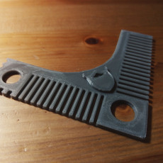 Picture of print of Perfect Beard Comb