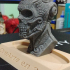 Skullhawk print image