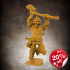 The Lion God, Champion of the Arena (32mm scale miniature) image
