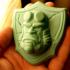 Hellboy badge print image