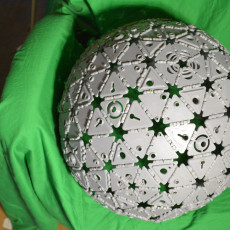 Geodesic Sphere from special PolyPanels