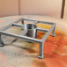 Picture of print of Rotating Miniature Paint Holder