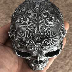 Picture of print of Fancy Skull 1
