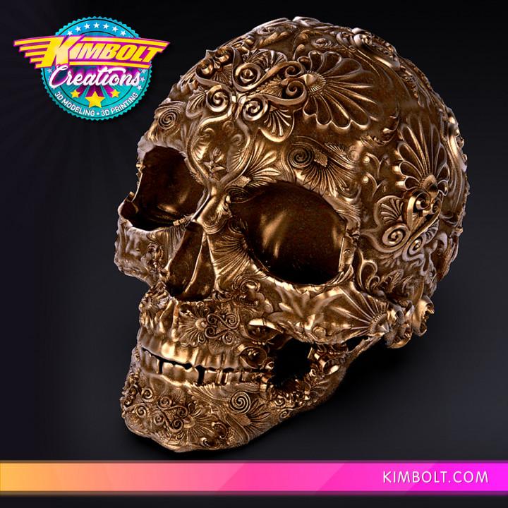 Fancy Skull 1