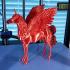 Majestic Alicorn (Flying Unicorn) print image