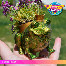 Froggy Planter - no supports