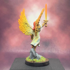 Picture of print of Archangel Miniature (28mm)