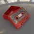 Steampunk audio cassette box. image