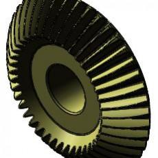 GW 1a - Gear Wheel -bevelled