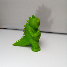 Picture of print of Tiny Godzilla