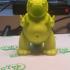 Tiny Godzilla print image