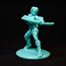 Picture of print of Female Barbarian in +3 Chauvinistic Armor