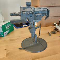 Picture of print of Gun With Legs - Borderlands 3