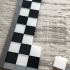 3D Printed Chess Set with Roll-up Board & Carrying Case print image